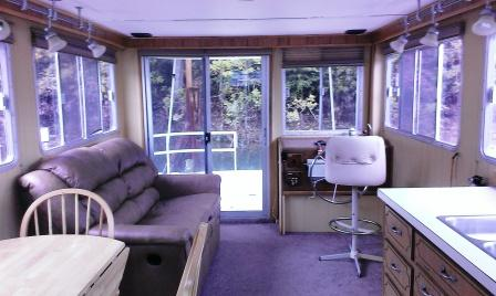 Premier Pontoon Boats >> 1985 42FT Gibson Houseboat with a 260 Volvo