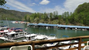 Two Bedroom with Fireplace Marina Side-Deck View