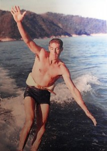 4 Ted Barefoot Skiing