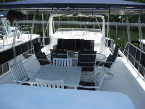 Top Deck Dining Area